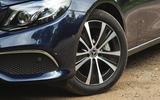 Mercedes E300de 2019 long-term review - alloy wheels