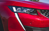 Peugeot 508 2019 long-term review - daytime running lights