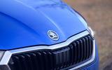4 Skoda Octavia 2021 long term review nose