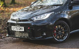 4 Toyota GR Yaris 2021 long term review nose