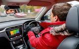 MG ZS EV 2020 long-term review - Tom Morgan driving