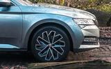 Skoda Superb 2020 long term review - alloy wheels