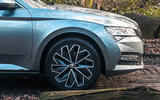 Skoda Superb 2020 long term review - alloy wheels