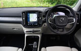 Volvo XC40 Recharge T5 2020 long-term review - dashboard