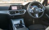 BMW 3 Series 330e 2020 long-term review - dashboard