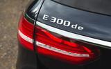Mercedes E300de 2019 long-term review - rear lights