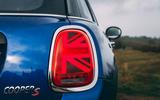 Mini 5-door Cooper S 2019 long-term review - rear lights