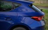 Seat Leon TSI 2021 long-term review - rear end