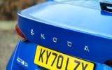 6 Skoda Octavia 2021 long term review rear badge
