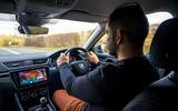 Skoda Superb 2020 long term review - Olgun Kordal driving