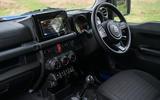 Suzuki Jimny 2019 long-term review - cabin