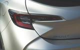 Toyota Corolla 2019 long-term review - rear lights