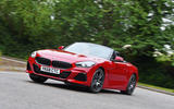 BMW Z4 2019 long-term review - cornering front