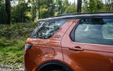 Land Rover Discovery Sport 2020 long-term review - rear three quarters