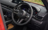 7 Mazda MX 30 2021 LT steering wheel