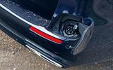 Mercedes E300de 2019 long-term review - charging port