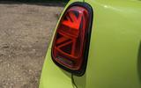 7 Mini Convertible 2021 long term rear lights