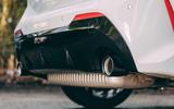 8 BMW 128ti 2021 LT hero exhausts