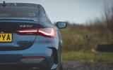 8 BMW 4 Series 2021 long term review rear lights