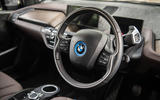 BMW i3S 2019 long-term review - steering wheel