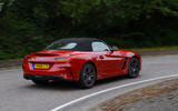 BMW Z4 2019 long-term review - cornering rear
