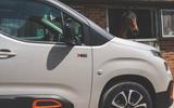 Citroen Berlingo 2019 long-term review - front wing