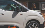 Citroen Berlingo 2019 long-term review - front wing