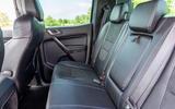Ford Ranger Raptor 2019 long term review - rear seats