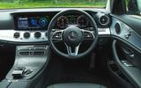 Mercedes E300de 2019 long-term review - dashboard