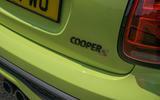 8 Mini Convertible 2021 long term rear badge