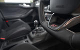 Ford Focus ST 2020 long-term review - steering wheel