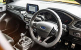Ford Focus ST 2020 long-term review - dashboard