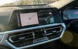 BMW 3 Series 330e 2020 long-term review - infotainment