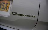 9 Citroen C5 Aircross Hybrid 2021 Long term review rear badge