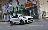 Ford Puma 2020 long-term review - town driving front