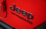 Jeep Wrangler Rubicon 2020 long-term review - rear badge