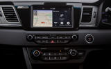 Kia e-Niro 2019 long-term review - centre console