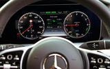 Mercedes E300de 2019 long-term review - instruments
