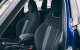 Mini 5-door Cooper S 2019 long-term review - front seats