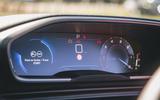 Peugeot 508 2019 long-term review - instruments