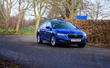 9 Skoda Octavia 2021 long term review on road front