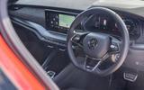 9 Skoda Octavia vRS estate 2021 LT dashboard