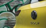 9 Volkswagen Golf 2021 long term review rear badge
