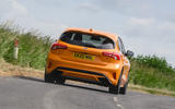 Ford Focus ST 2020 long-term review - hero rear