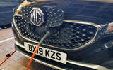MG ZS EV 2020 long-term review - charging cable