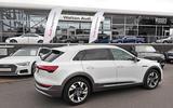 Audi E-tron at Walton Audi