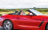 BMW Z4 long-term review - on circuit closeup