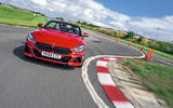 BMW Z4 long-term review - on circuit front 1