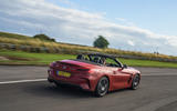 BMW Z4 long-term review - on circuit rear