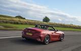 BMW Z4 long-term review - on circuit rear